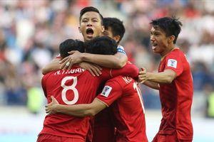 Hành trình nghẹt thở vào tứ kết Asian Cup 2019 của đội tuyển Việt Nam