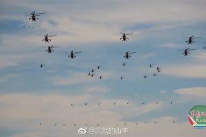 Trung Quốc khoe số lượng trực thăng tấn công 'khủng'