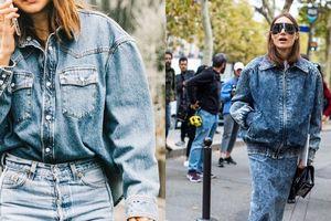 Kiểu jeans 'con nhà nghèo' bất ngờ mốt trở lại