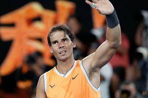 Rafa Nadal thẳng tiến vào bán kết Australia mở rộng
