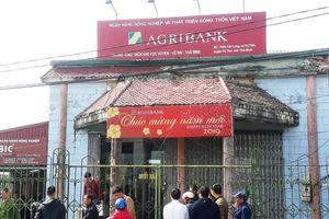 Truy tìm đối tượng cướp ngân hàng Agribank tại Thái Bình