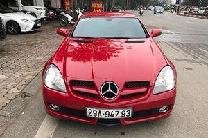 Xe sang chảnh Mercedes-Benz SLK chỉ 795 triệu ở HN