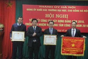 Đảng ủy Khối các trường ĐH-CĐ Hà Nội tổng kết năm 2018