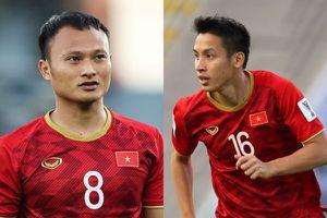 Trọng Hoàng và Hùng Dũng lọt vào đội hình tiêu biểu vòng 1/8 Asian Cup 2019