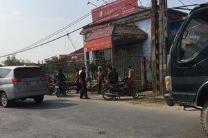 Truy bắt nghi phạm cướp ngân hàng ở Thái Bình