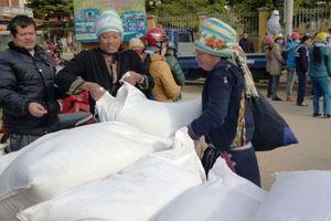 Xuất cấp hơn 6.000 tấn gạo hỗ trợ người dân ăn Tết