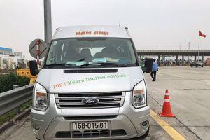 Sau xe tải, đến lượt phát hiện tài xế xe khách 'dính' ma túy