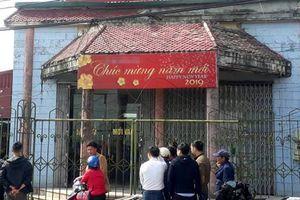 Cướp ngân hàng ở Thái Bình: Xịt hơi cay nhân viên, chém trưởng thôn