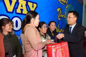 Liên đoàn Lao động Nghệ An tổ chức 'Tết sum vầy 2019'