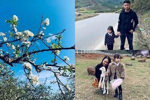 Kinh nghiệm đưa con gái 3 tuổi tới Mộc Châu đúng mùa hoa mận nở của bà mẹ 8X Hà Nội