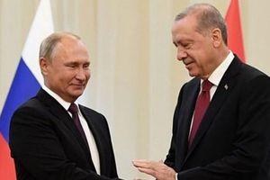 Tổng thống Nga, Thổ Nhĩ Kỳ hội đàm về 'vùng an ninh' ở Syria