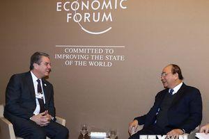 Hình ảnh hoạt động của Thủ tướng trong chương trình dự hội nghị WEF