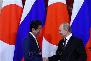 Nhật Bản, Nga quyết tâm giải quyết tranh chấp lãnh thổ