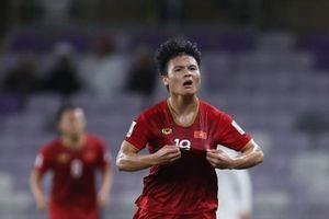 Quang Hải được CĐV bình chọn là cầu thủ hay nhất vòng bảng Asian Cup 2019