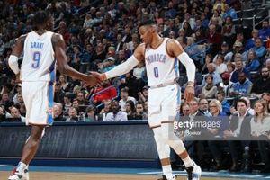 Westbrook ghi Triple-double, 'Thần sấm' thị uy sức mạnh