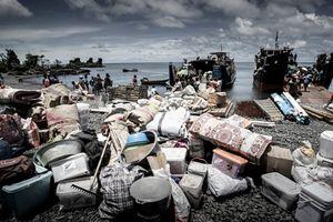 Vanuatu: Dân đảo Ambae mòn mỏi chờ đợi về nhà sau đợt núi lửa Manaro Voui phun trào