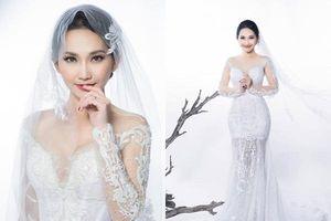 'Út Ráng' Kim Hiền tung ảnh cưới đẹp lung linh sau 5 năm kết hôn với chồng Việt kiều