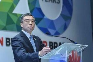 Chủ tịch Huawei tuyên bố cứng rắn với những nước 'hùa theo Mỹ'