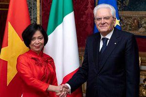 Thúc đẩy quan hệ đối tác chiến lược Việt Nam – Italy phát triển sâu rộng