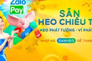 Minh Hằng - Đại sứ thương hiệu của ZaloPay trong chương trình 'Săn heo chiêu tài Tết 2019