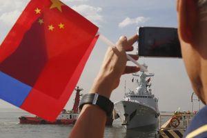 Philippines lần đầu tiên cử tàu tham gia lễ duyệt hạm đội của Trung Quốc