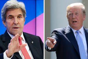 Cựu Ngoại trưởng Mỹ John Kerry kêu gọi Tổng thống Trump từ chức