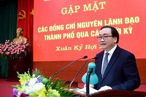Hà Nội gặp mặt nguyên lãnh đạo thành phố qua các thời kỳ