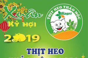 Sagrifood tri ân khách, giảm 10% giá thịt heo Thảo Mộc Sagri