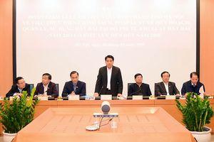 Đoàn giám sát của Quốc hội làm việc với TP Hà Nội về thực hiện chính sách đất đai