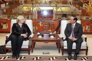 Hà Nội tăng cường hợp tác cùng phát triển với Litva