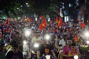 CSGT huy động 100% cán bộ chiến sĩ đảm bảo giao thông trận Việt Nam – Nhật Bản