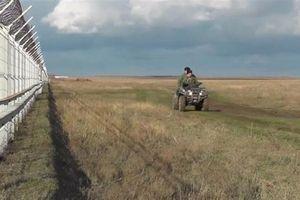Nga cũng có một bức tường ở biên giới với Ukraine