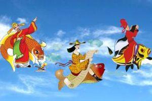 Tại sao ông Công ông Táo cưỡi cá chép mà không phải con vật khác về trời?