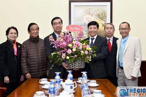 Thứ trưởng Nguyễn Quốc Cường tiếp Lãnh đạo Hội liên lạc với người Việt Nam ở nước ngoài