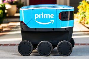 Amazon tung robot giao hàng tự lái mới