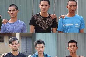 Cảnh sát mật phục bắt nhóm chuyên tuồn xe gian ra nước ngoài