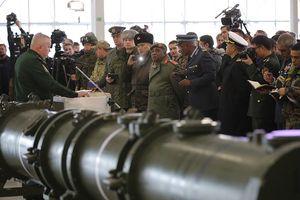 Chiêm ngưỡng cận cảnh vũ khí Nga đang làm phương Tây 'điên đảo'