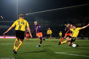 Man City vào chung kết Cúp Liên đoàn với tổng tỷ số 10-0