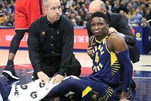 Victor Oladipo gặp chấn thương trong ngày chiến thắng của Indiana Pacers