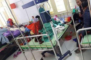 Bé gái 18 tháng tuổi cùng 4 người nhập viện, nghi do pháo tự chế phát nổ