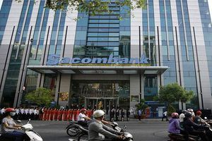 Sacombank rao bán 10 triệu cổ phiếu EIB của khách hàng vay