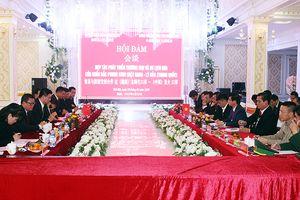 Hội đàm hợp tác phát triển thương mại, dịch vụ qua cửa khẩu Bắc Phong Sinh (Việt Nam) - Lý Hỏa (Trung Quốc)