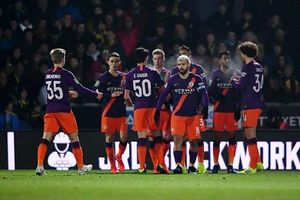 Thắng nhẹ Burton, Man City vào chung kết League Cup