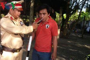 CSGT Tiền Giang chưa thể kiểm tra tài xế sử dụng các chất ma túy