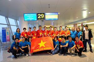 Hàng trăm CĐV lên đường sang Dubai 'tiếp lửa' cho Đội tuyển Việt Nam thi đấu bán kết Asian Cup