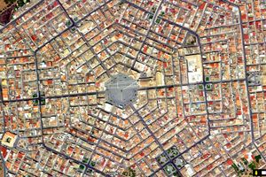 Cận cảnh thị trấn hình lục giác đầu tiên ở châu Âu