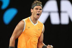 Rafa Nadal lần thứ năm góp mặt ở chung kết Australia mở rộng