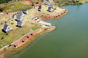 Tháo dỡ công trình trái phép tại hồ Tuyền Lâm