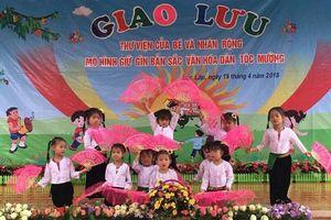 Trường Mầm non Suối Hoa: Thực hiện tốt công tác nâng cao chất lượng chăm sóc, giáo dục trẻ