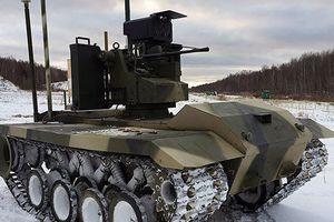 Quân đội Nga chính thức được trang bị Robot chiến đấu Uran-9
